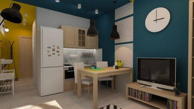 European Studio Condo Apartment Design Concept Small Ideas