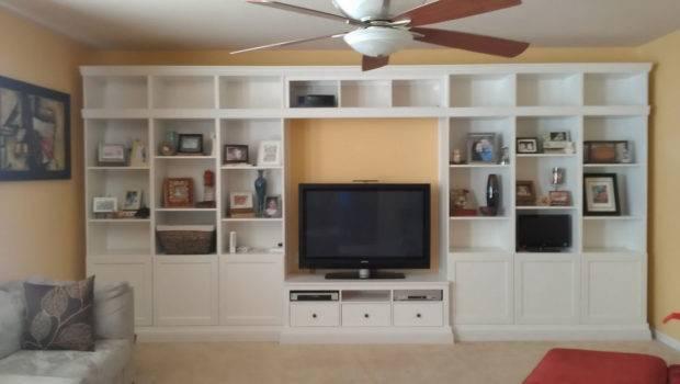 Exclusive Decor Minimalist Built Bookshelves Visualizations Perfect