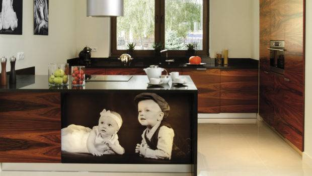 Exotic Wood Kitchen Cabinets