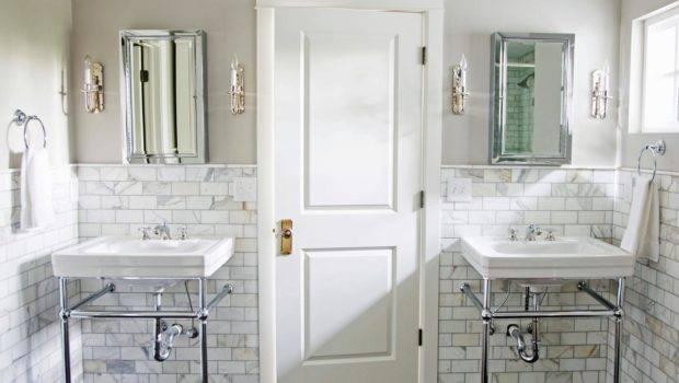 Exquisite Marble Tile Bath Marianne Brown Hgtv