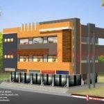 Exterior Design Details Commercial Building