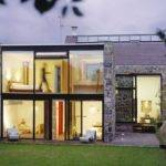 Exterior Home Design Ideas Lighting Modern House