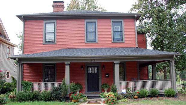 Exterior Paint Color Ideas Red Walls