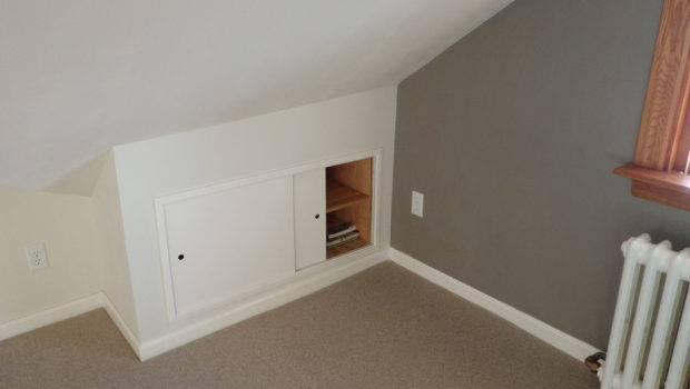 Extra Shelf Space Built Into Wall Sliding Doors