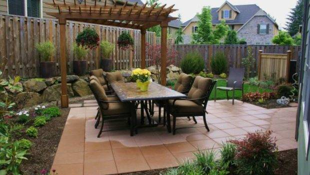 Fabulous Small Backyard Patio Landscaping Ideas