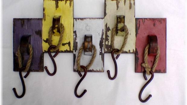 Fabulous Wall Hooks Coats Designs Creative Ideas