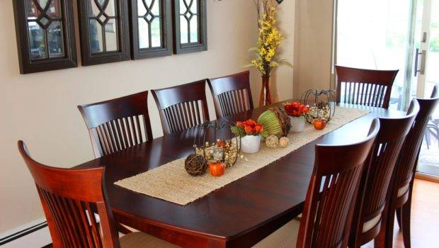 Fall Dining Room Tablescape