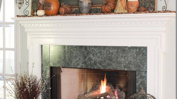 Fall Mantel Decadent Textured Unskinny Boppy