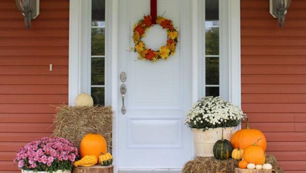 Fall Porch Decorating Ideas Fynes Designs