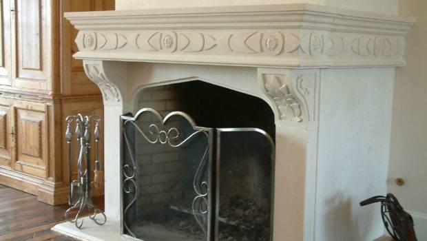 Famous Cast Stone Fireplace Surrounds Jpeg