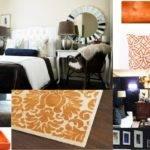 Fashion World Orange Bedding Guest Bedroom Transformation Part