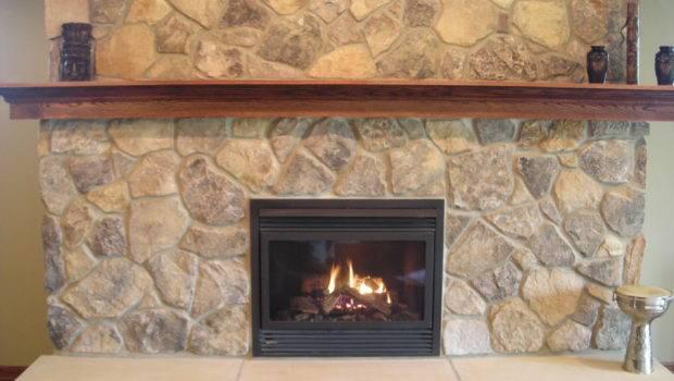 Feature Fireplace Sandstone Hearth