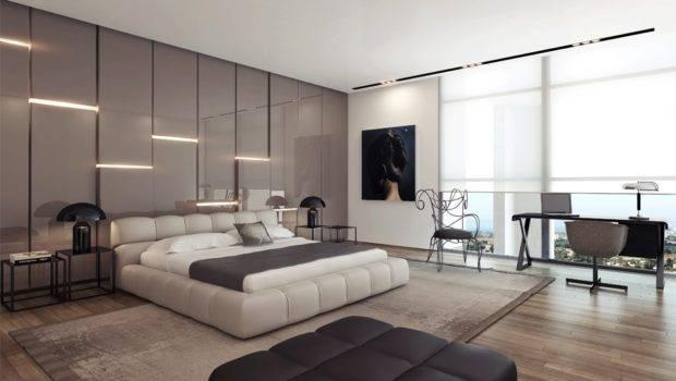 Feature Walls Bedroom Modern Wall Design