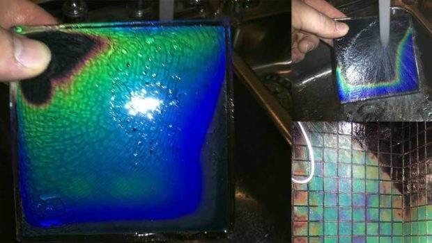 Featured Heat Sensitive Shower Tiles Change Colours