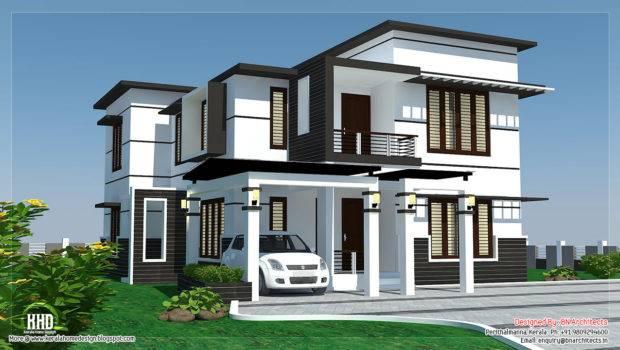 Feet Bedroom Modern Home Design Kerala