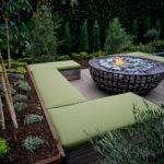 Fire Pit Bench Seating Swing