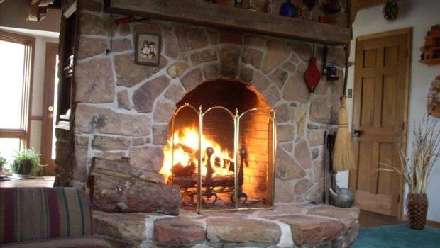 Fireplace Designs Stone Veneer Fireplaces