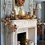 Fireplace Mantel Decor Ideas Decorating Thanksgiving