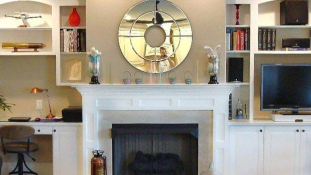 Fireplace Mantel Designs Living Room Dining Decorating