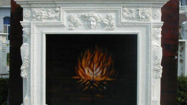 Fireplace Mantles Carved Stone Surrounds