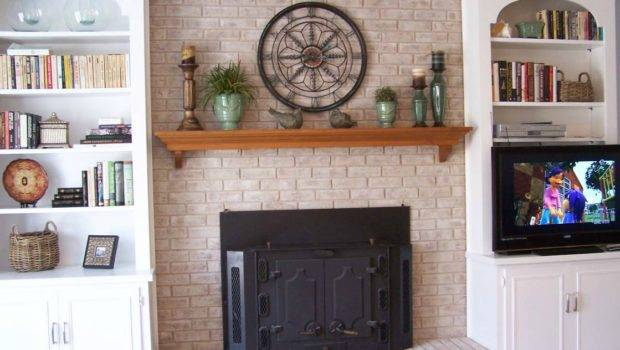 Fireplace Opening Shelves Differ
