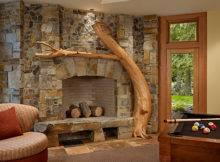 Fireplace Rec Room Cedar Haven Home Contemporary