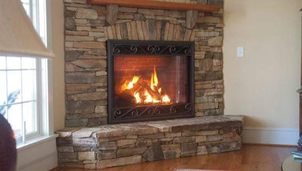 Fireplace Stone Design Fireplaces Corner
