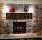 Fireplace Stone Wall Decoration Ideas Modern Home