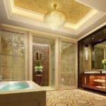 Five Star Hotel Luxury Bathroom Interior Design