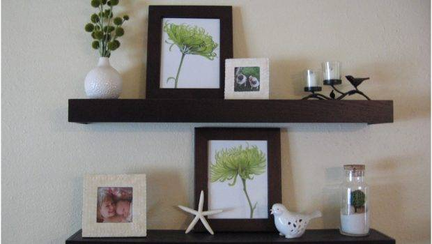 Floating Shelves Wall Decor