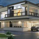 Floor Plan Modern House Kerala Home Design