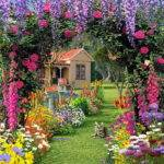 Flower Garden Luxurious