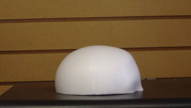 Foam Dome Wig Display Block Polly Products