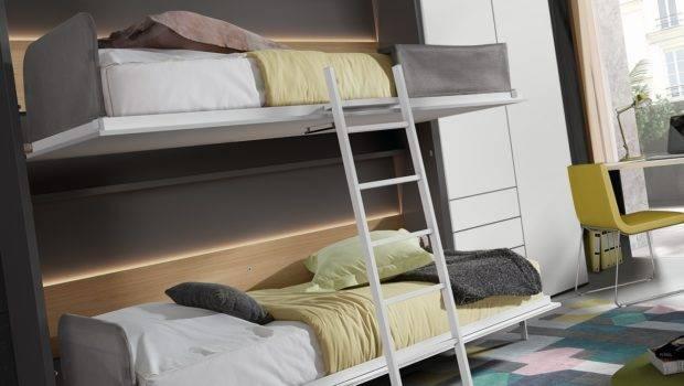 Foldaway Bunk Bed Wall