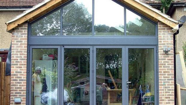 Folding Patio Doors Gable Window Installation Featured