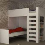Folkestone Shaped Bunk Beds Modern Bed Designs Kent