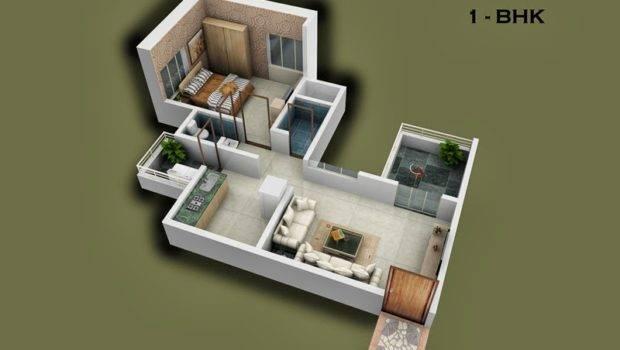 Foundation Dezin Decor Bhk Flats Floor Layouts