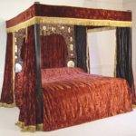 Four Poster Bed Drapes Ciabiz