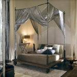 Four Poster Canopy Bed King Curtains