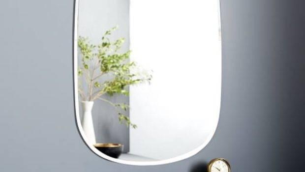 Frameless Rectangle Wall Mirror West Elm