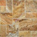 French Pattern Set Scabos Travertine Tile Brushed