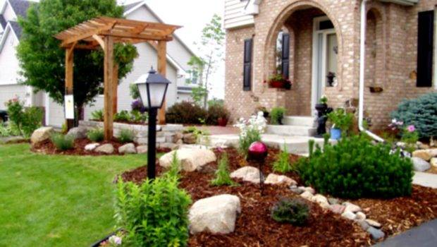Front Garden Ideas Budget Simple Yard Landscaping