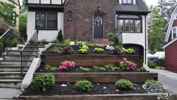 Front Yard Landscape Design Blossoming Beginnings Landscaping