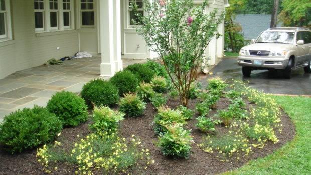 Front Yard Landscape Design Northern Virginia Landscaping Mclean