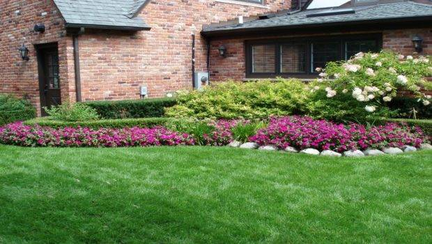 Front Yard Landscaping Ideas Budget Low Maintenance