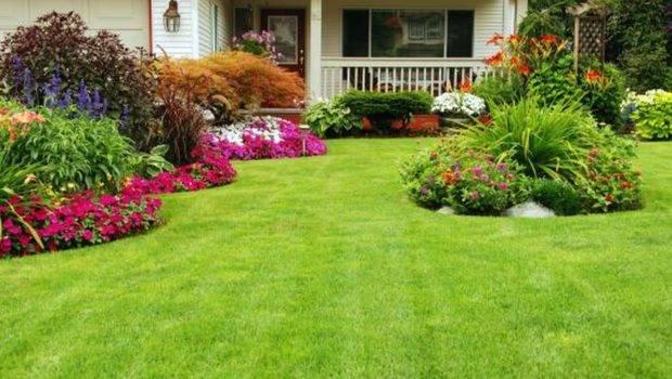 Front Yard Landscaping Ideas Designed Green Grass