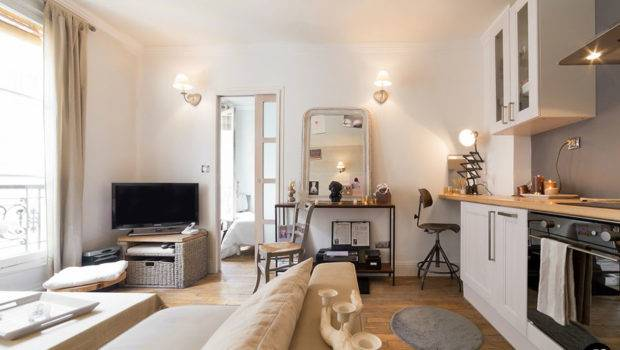 Functional Small Apartment Interior Design Muted