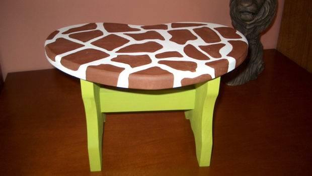Furniture Children Step Stool Heart Pcbartandgifts