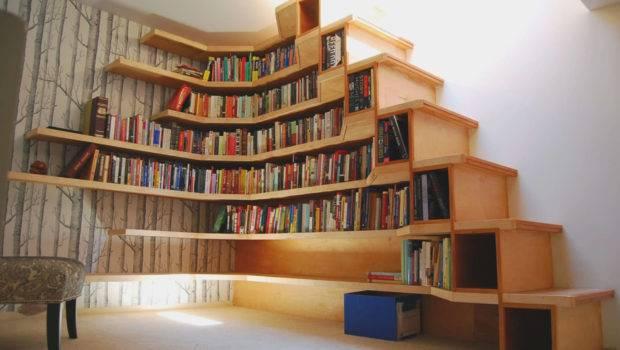 Furniture Cool Bookshelf Design Inspiration Modern