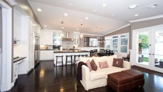 Furniture Open Floor Plan Layout Ideas